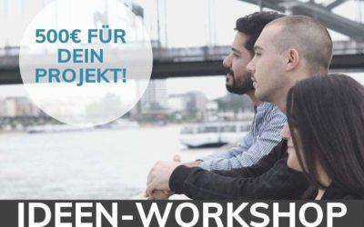 Ideen-Workshop: Sei dabei!