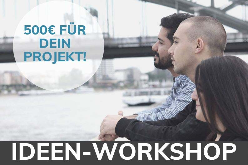 Ideen-Workshop: Sei dabei!